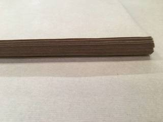 Packing ribbed paper 100g, 1050 x 1260 mm