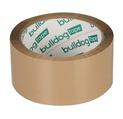 SOLVENT ADHESIVE TAPE VIBAC- BROWN 48mm/66yd