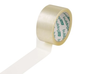 SOLVENT TAPE TRANSPARENT BULLDOG 48mm/66yd